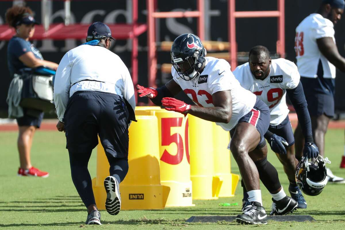 The Texans are getting a sixth-round pick for Shaw Lawson.
