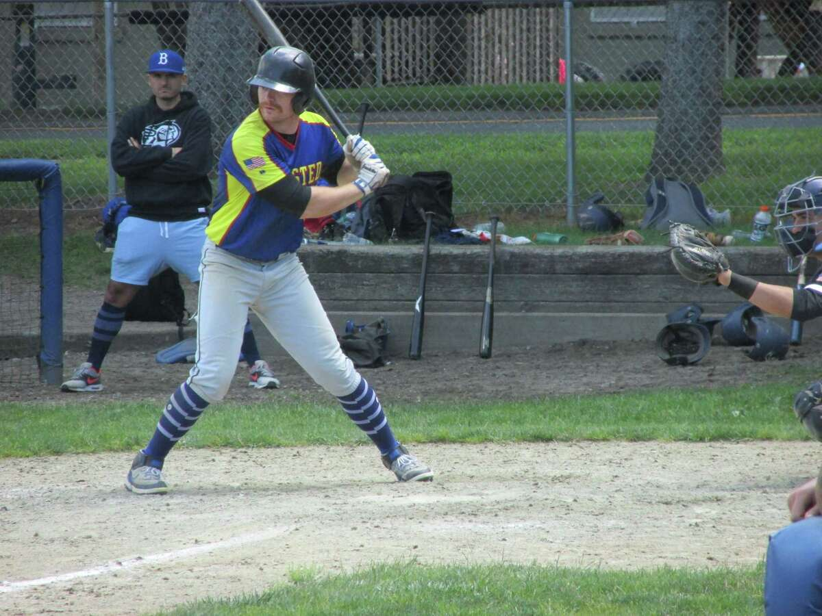 John Lippinchott came up big in a losing cause for the Winsted Whalers as the Bethlehem Plowboys clinched their best-of-three Tri-State Baseball League Round 2 championship series at Walker Field Saturday.