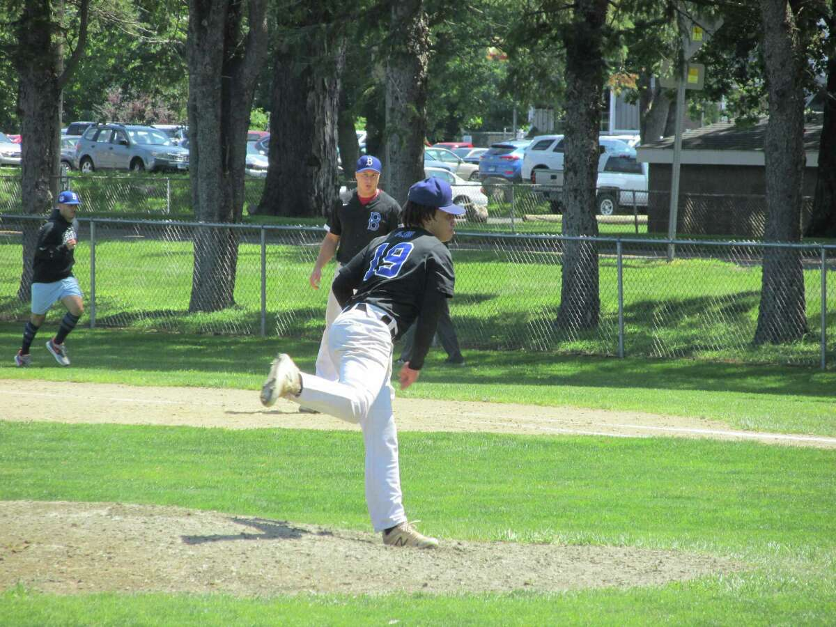 Bethlehem's Isaiah Johnson got the win as one of three Plowboy pitchers in a best-of-three Round 2 series clincher against the Winsted Whalers Saturday at Winsted's Walker Field in the Tri-State Baseball League's championship playoffs.