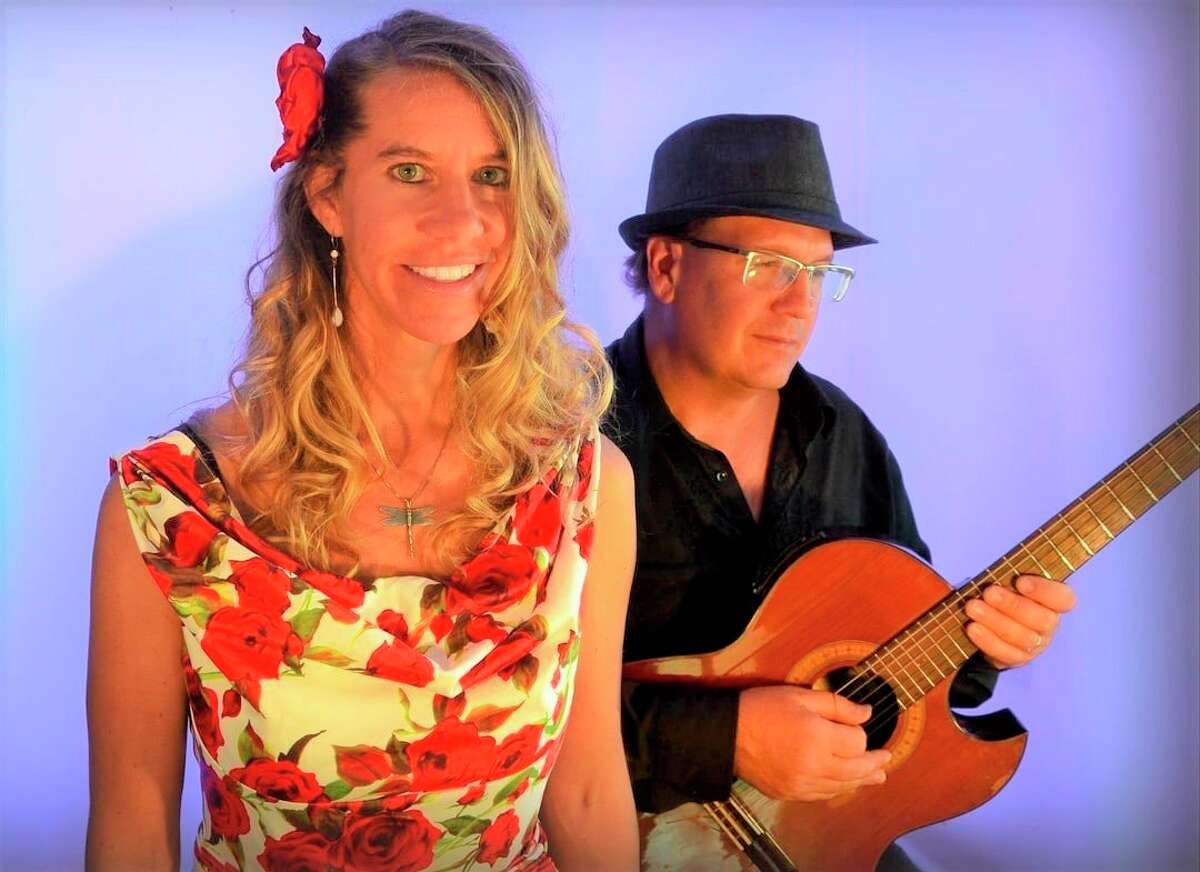 Patchouli and Terra Guitarra are master guitarist Burce Hecksel and singer-songwriter, guitarist Julie Patchouli. (Courtesy photo)