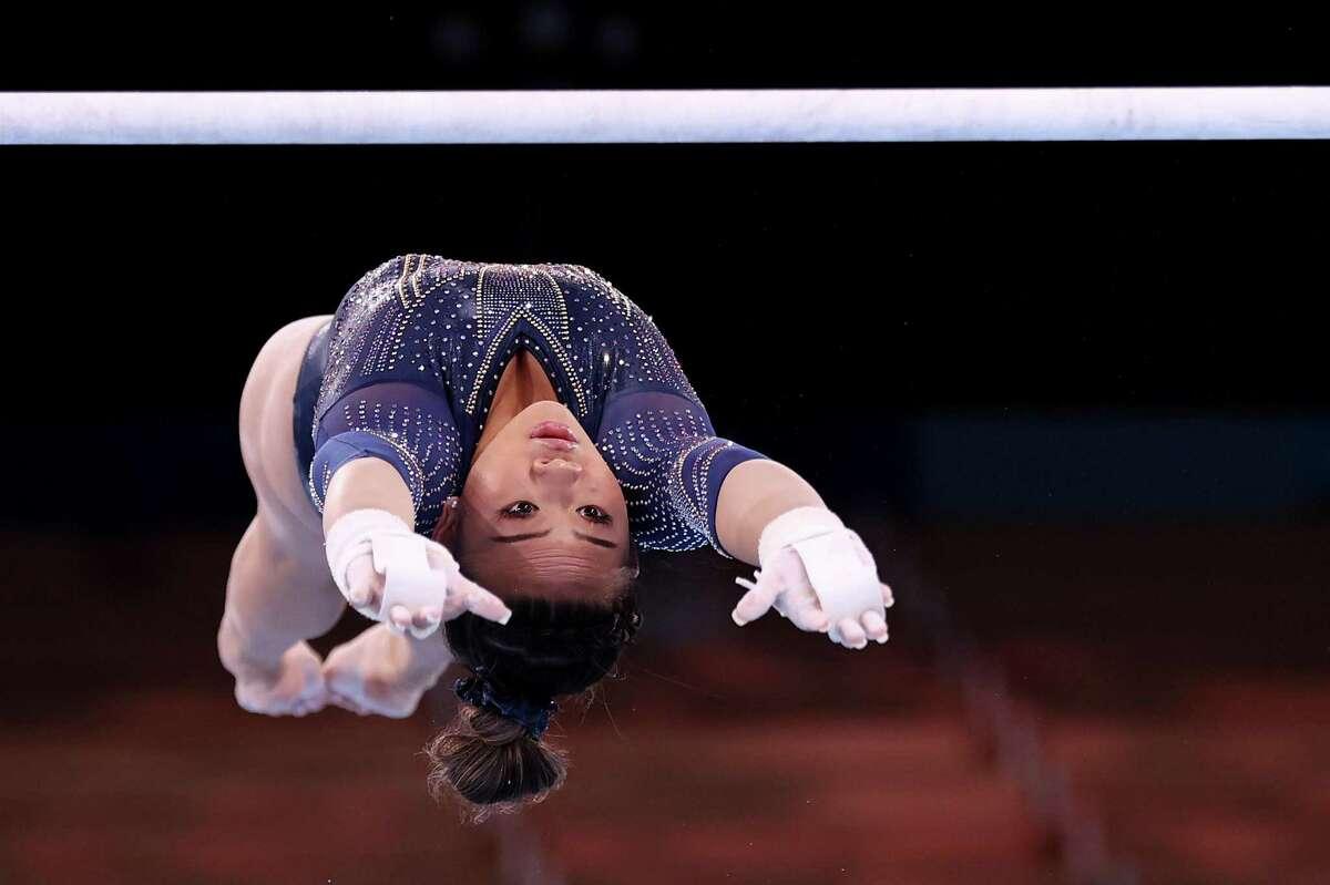 Sunisa Lee took bronze in the uneven bars, her favorite event.