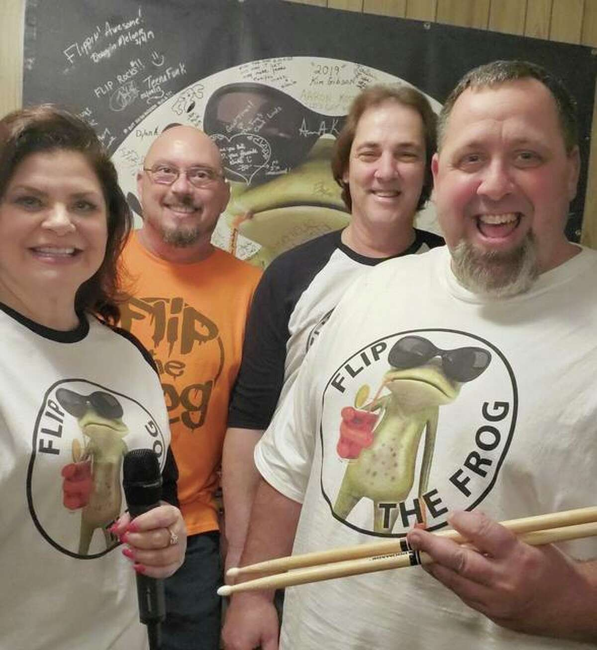 Flip the Frog will perform in Fosterburg Park, 2919 Main St., in Alton on Monday, Aug. 2 from 7-9 p.m.