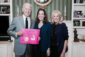 8.    When Joe Biden was vice president, my daughter, Lauren, was running for vice president of her fourth grade class. I was at an event with him where he signed one of her posters and endorsed her candidacy.