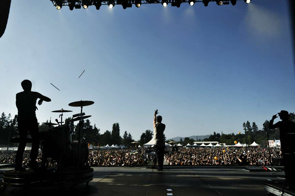 Third Eye Blind perform at BottleRock Napa Valley in 2014. Organizers of the event have rolled out new safety measures ahead of the 2021 festival occurring over Labor Day weekend.