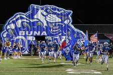 The Buna Cougars traveled down the road to Lumberton to take on the Diboll Lumberjacks in playoff action on Friday night. Photo made on November 13, 2020. Fran Ruchalski/The Enterprise