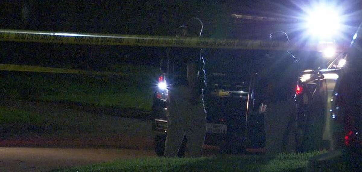 Authorities say they are investigating the shooting of a man with a developmental disability by a retired Sugar Land Police Department officer Sunday night.