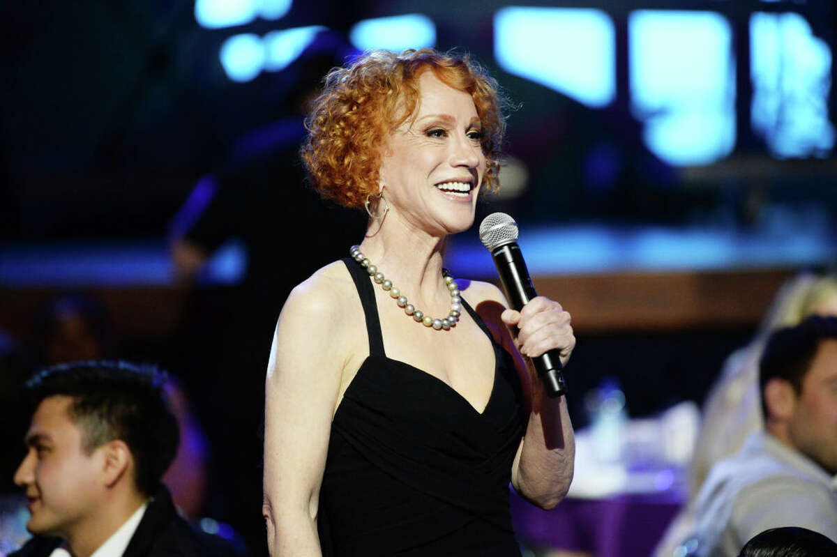 Kathy Griffin speaks during the 11th Annual Shorty Awards on May 05, 2019 at PlayStation Theater in New York City.