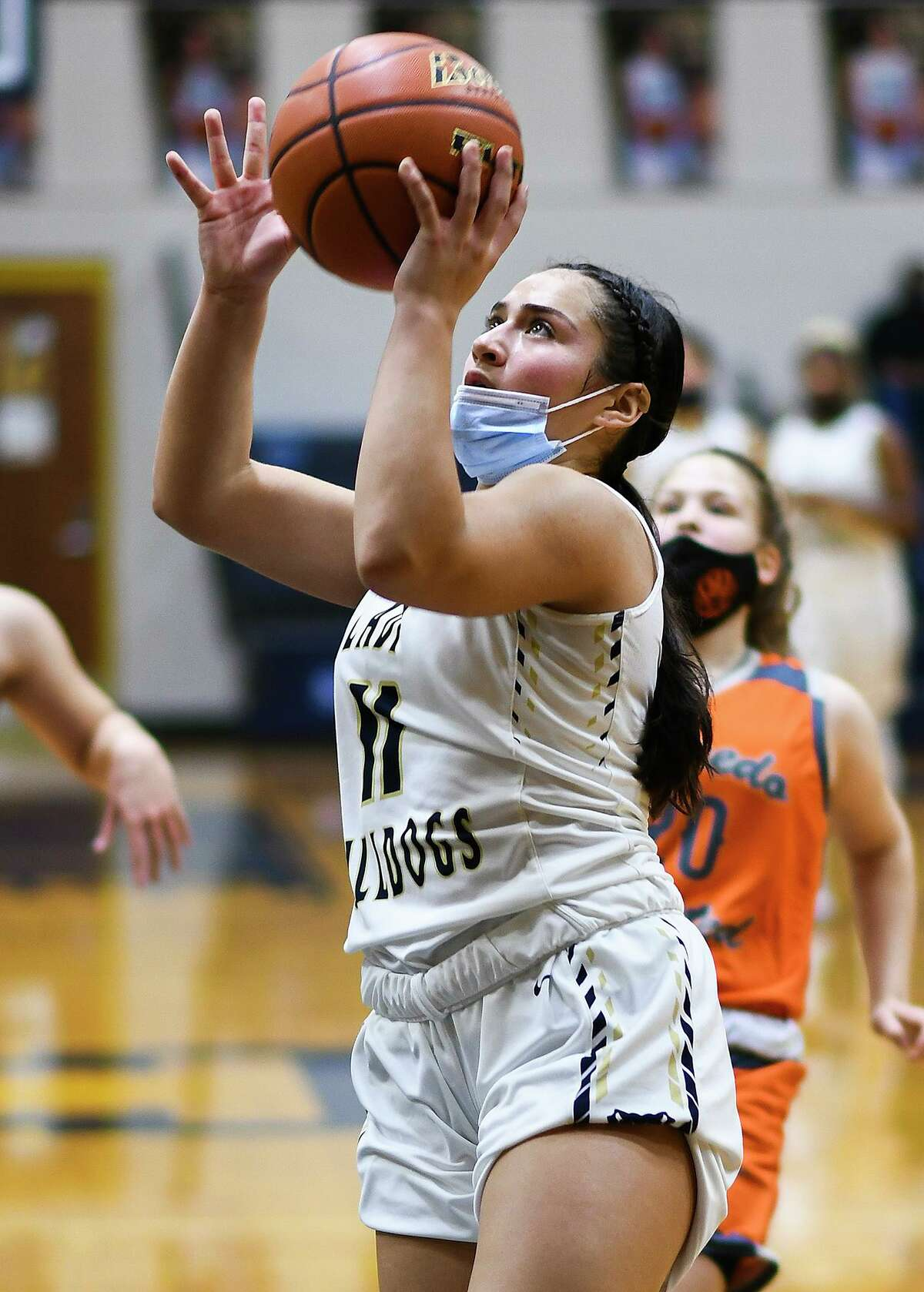 Alexander senior-to-be Kayla Herrera aims to play college basketball after her high school career is over.