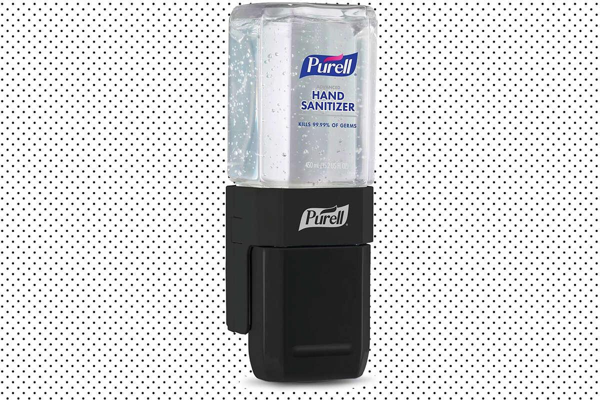 Purell hand sanitizer dispenser start kit at Amazon