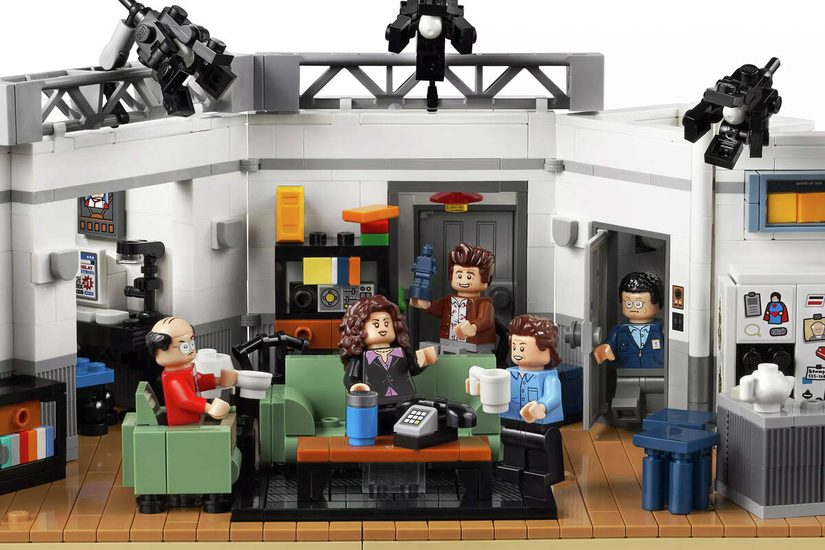 Lego x Seinfeld set at Lego.com