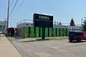 Construction has begun on a new dispensary, Timber Cannabis Co.,105 Perry Ave, Big Rapids.(Pioneer photo/Gena Harris)