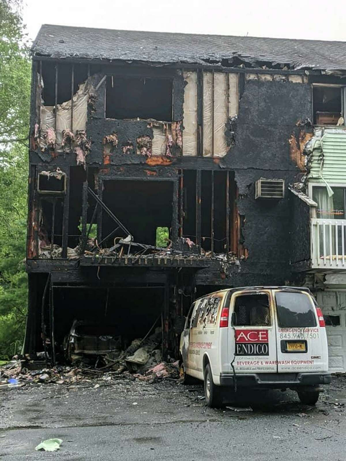 Rowayton Elementary School kindergarten teacher Gianna Fiorentini lost her Danbury townhouse in a fire on July 19. She and her family safely escaped, but their cat is missing.