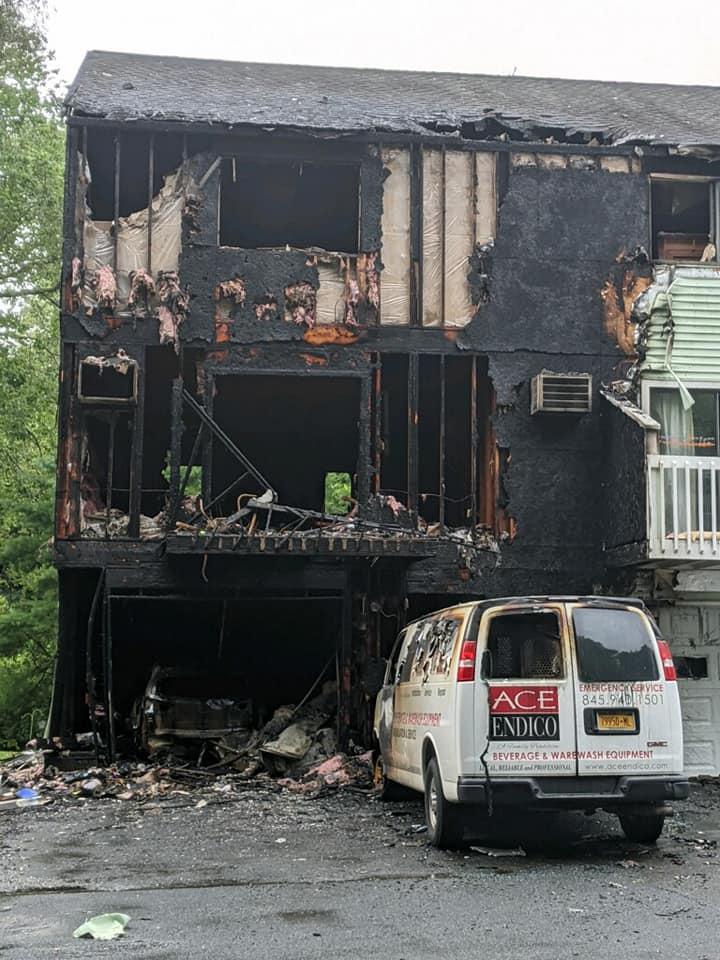 Ct Teacher Escapes Condo Fire, Jeff S Garage Doors Norwalk Ct