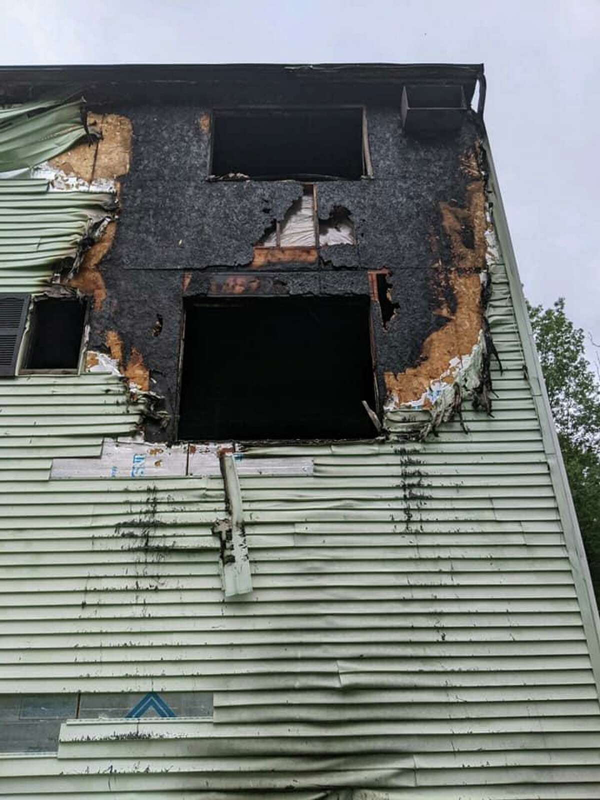 Rowayton Elementary School kindergarten teacher Gianna Fiorentini lost her Danbury townhouse in a fire on July 19. She and her family safely escaped.