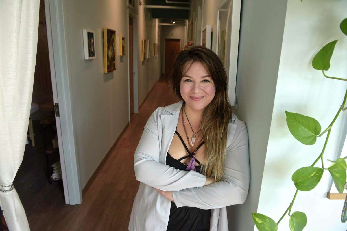 Kathleen Kewskin is the founder and CEO of Grow Wellness at 901 Ethan Allen Highway in Ridgefield. The alternative therapy practice is holding a grand opening celebration this weekend to mark its expansion during the pandemic.