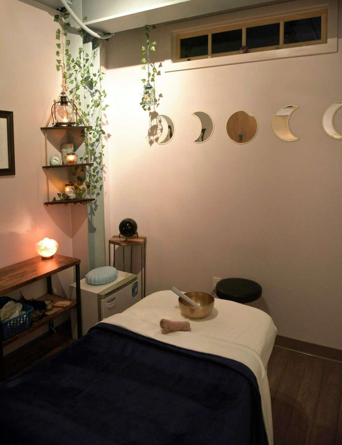 A therapy room at Grow Wellness at 901 Ethan Allen Highway in Ridgefield. The alternative therapy practice is holding a grand opening celebration this weekend to mark its expansion during the pandemic.