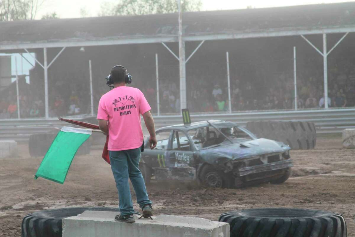 TNT has hosted demolition derbies in past years at the Manistee County Fair. This year, events will take place on Aug. 18 and 21 during fair week at the fairgrounds in Onekama. (File photo)