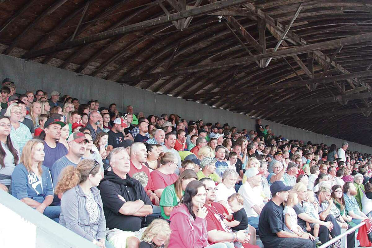 Grandstand events draw big crowds at the Manistee County Fair, and there will be plenty of events this year that will appeal to all interests. (File Photo)