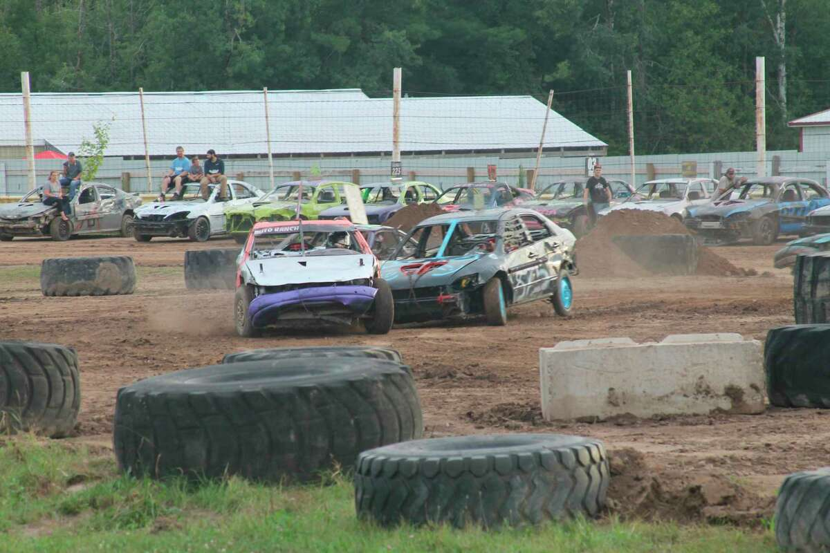 TNT Demolition Derby will bring eventsto the Manistee County Fair at 7 p.m. on Aug. 18, 19 and21. (File photo)