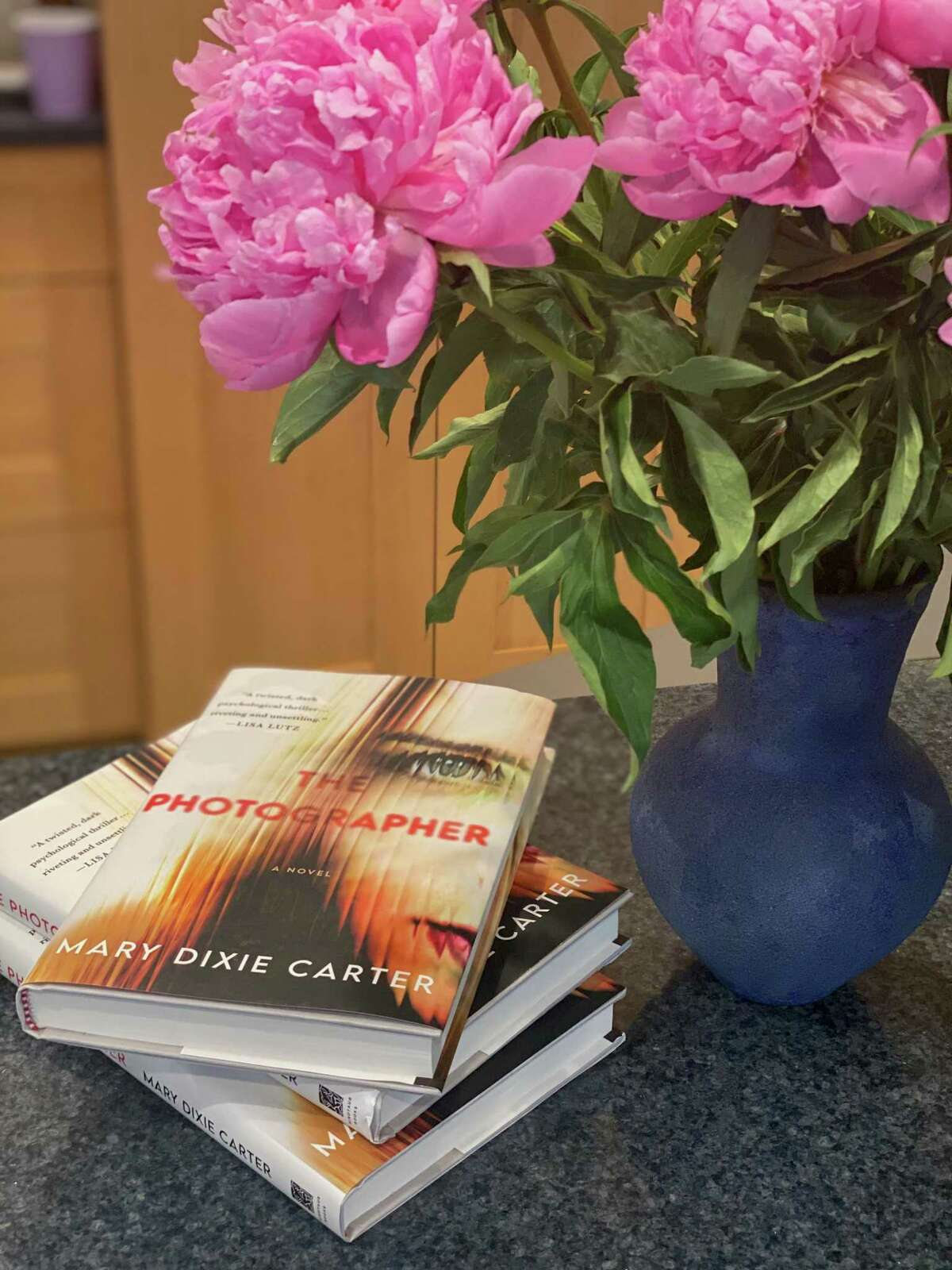 """Mary Dixie Carter's new book, """"The Photographer."""""""