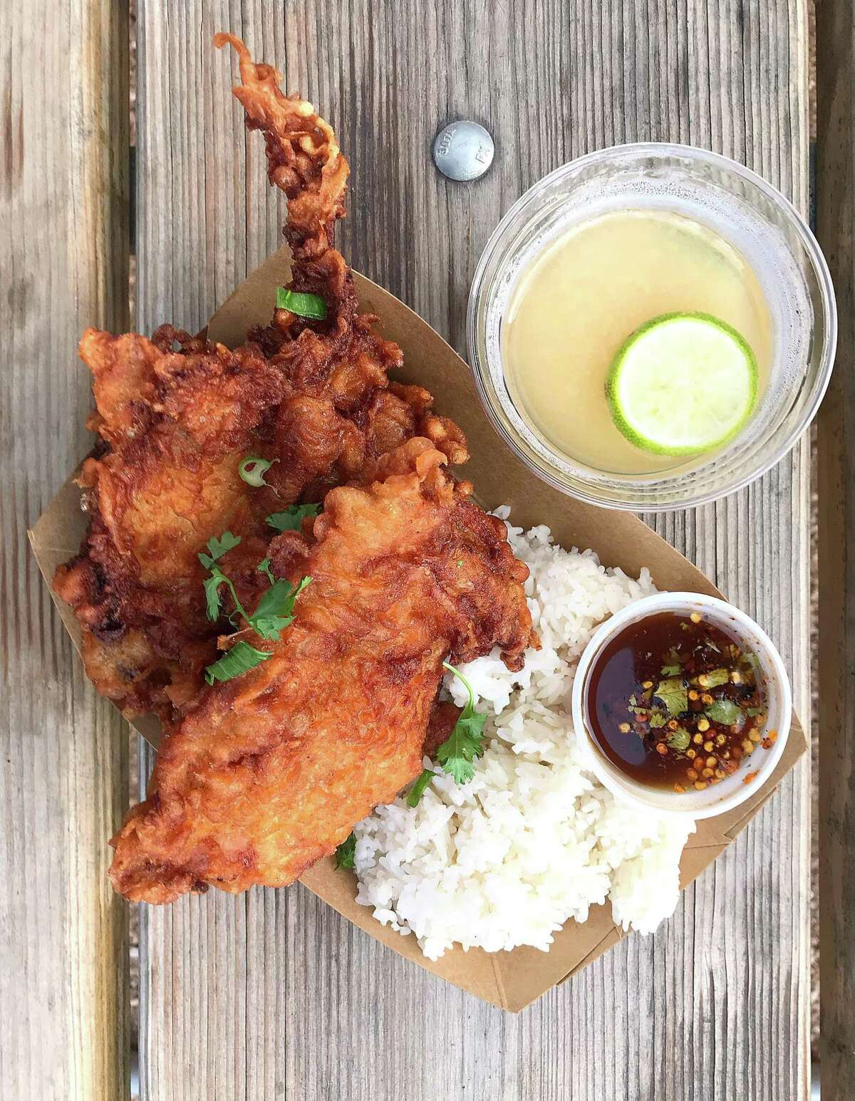Thai Fried Chicken at Hello Paradise
