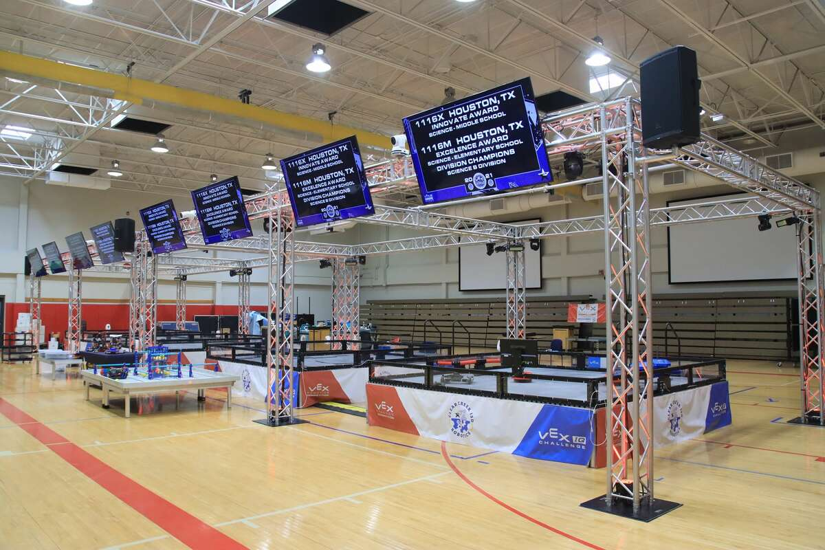 Clear Creek ISD's robotics facility is scheduled to be completed this year.