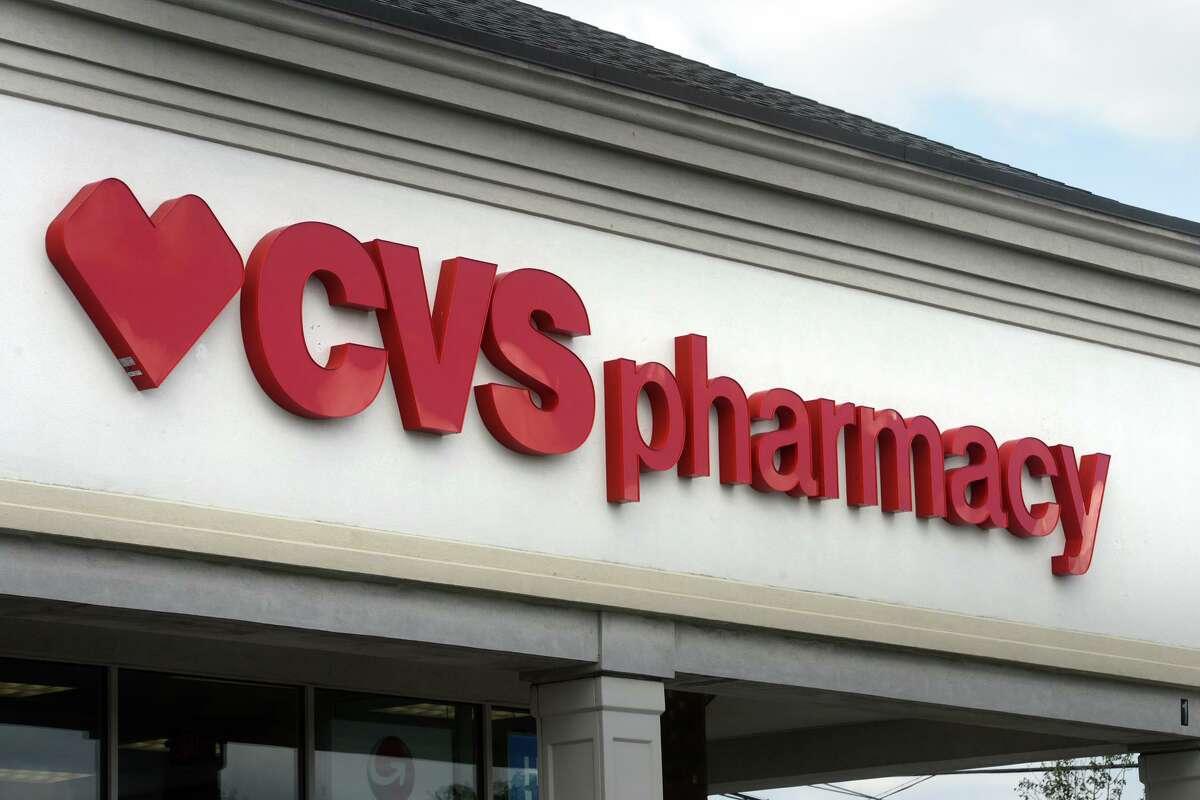 CVS Pharmacy on Hawley Lane, in Stratford on Monday.