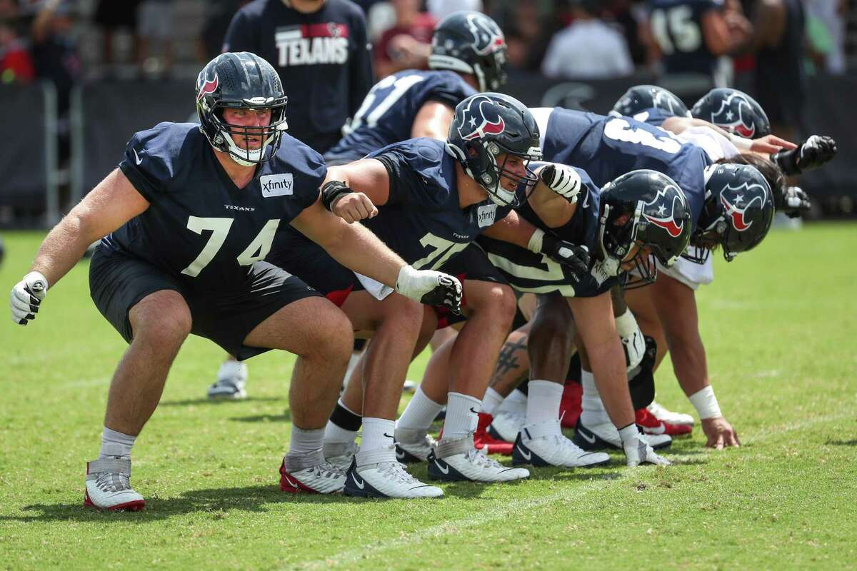 The Texans' offensive line is looking to rebound after a subpar season, with a new position coach and new faces up front.
