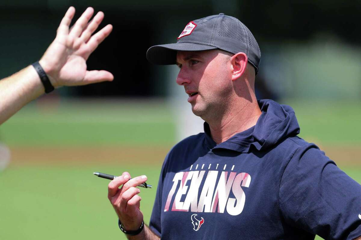 Jack Easterby, the Texans' executive vice president of football operations, has been a fixture at training camp but hasn't answered questions from media. The organization's explanations of Deshaun Watson's status has not sat well with fans.