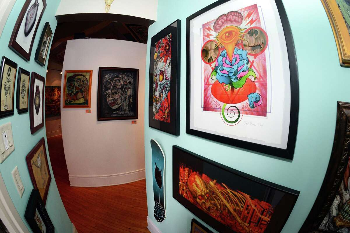 Forest to Shore Gallery and Tattoo Studio in Stratford, Conn. Aug. 2, 2021.