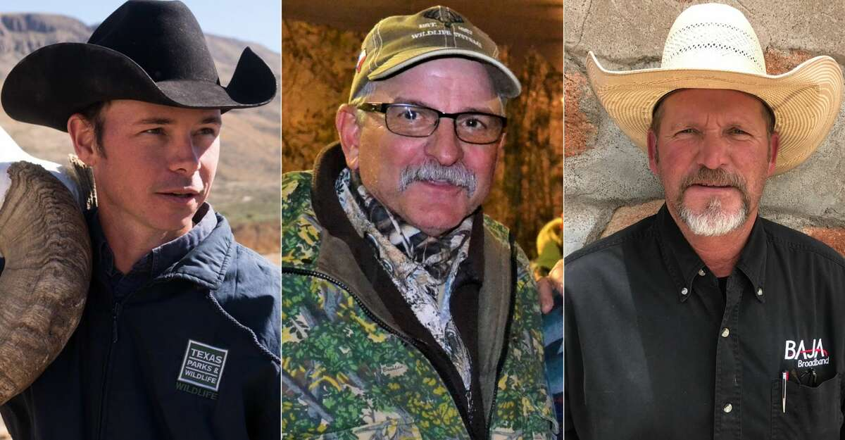 Dewey Stockbridge, Bob Dittmar and Brandon White died a year ago in a helicopter accident while surveying desert bighorn sheep in West Texas.