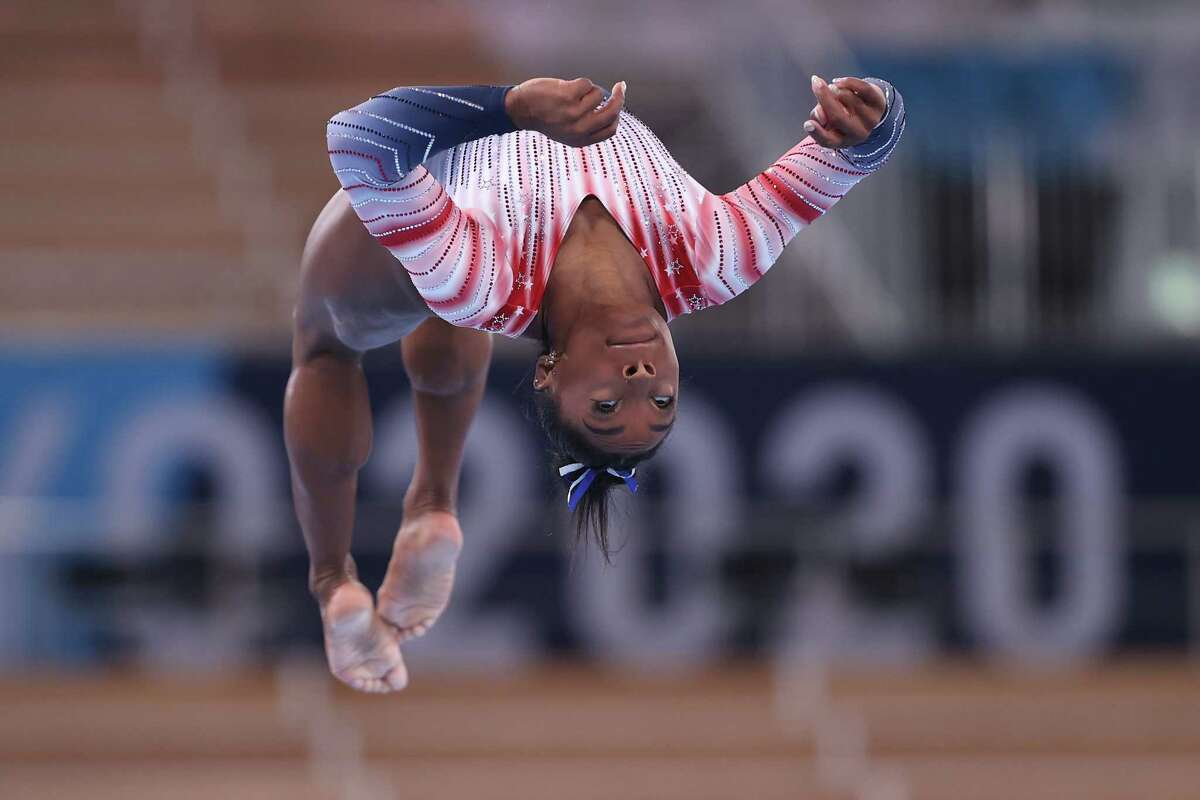 Simone Biles returned to competition at the Tokyo Olympics on Tuesday and won bronze in the balance beam.