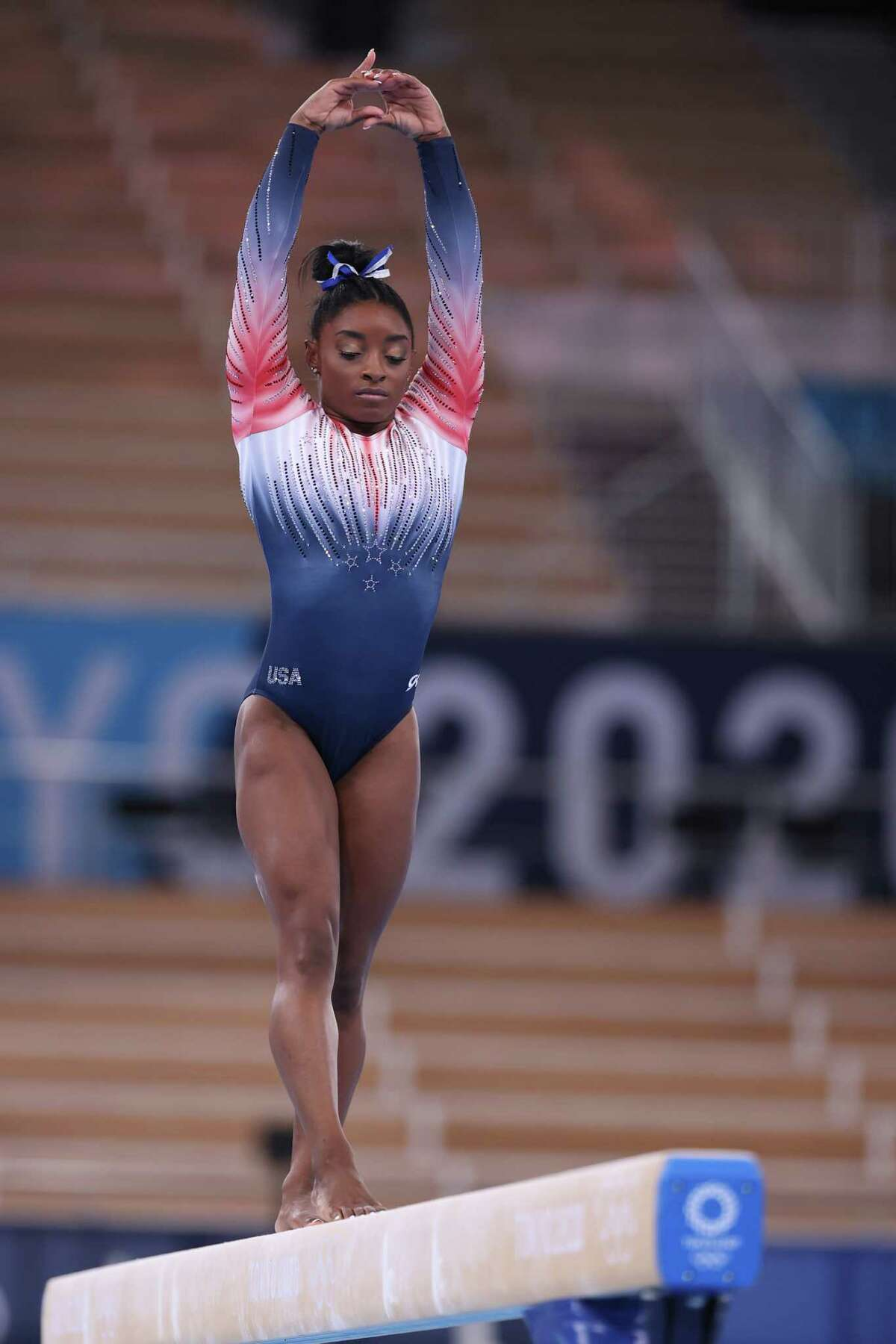 Simone Biles returned to action in Tokyo and took bronze on the balance beam.