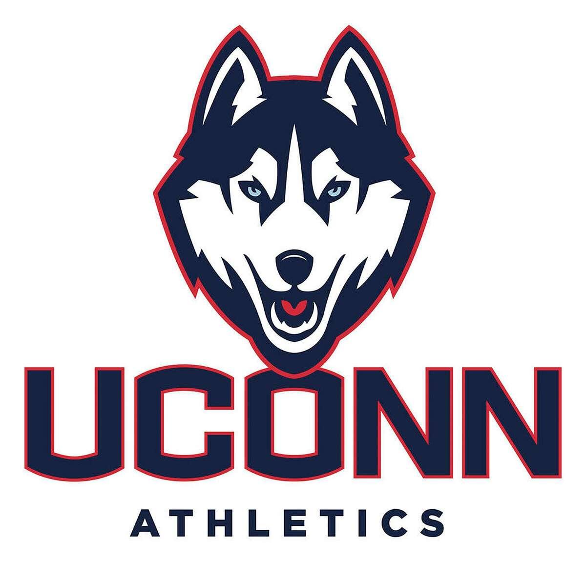 The University of Connecticut mascot logo.