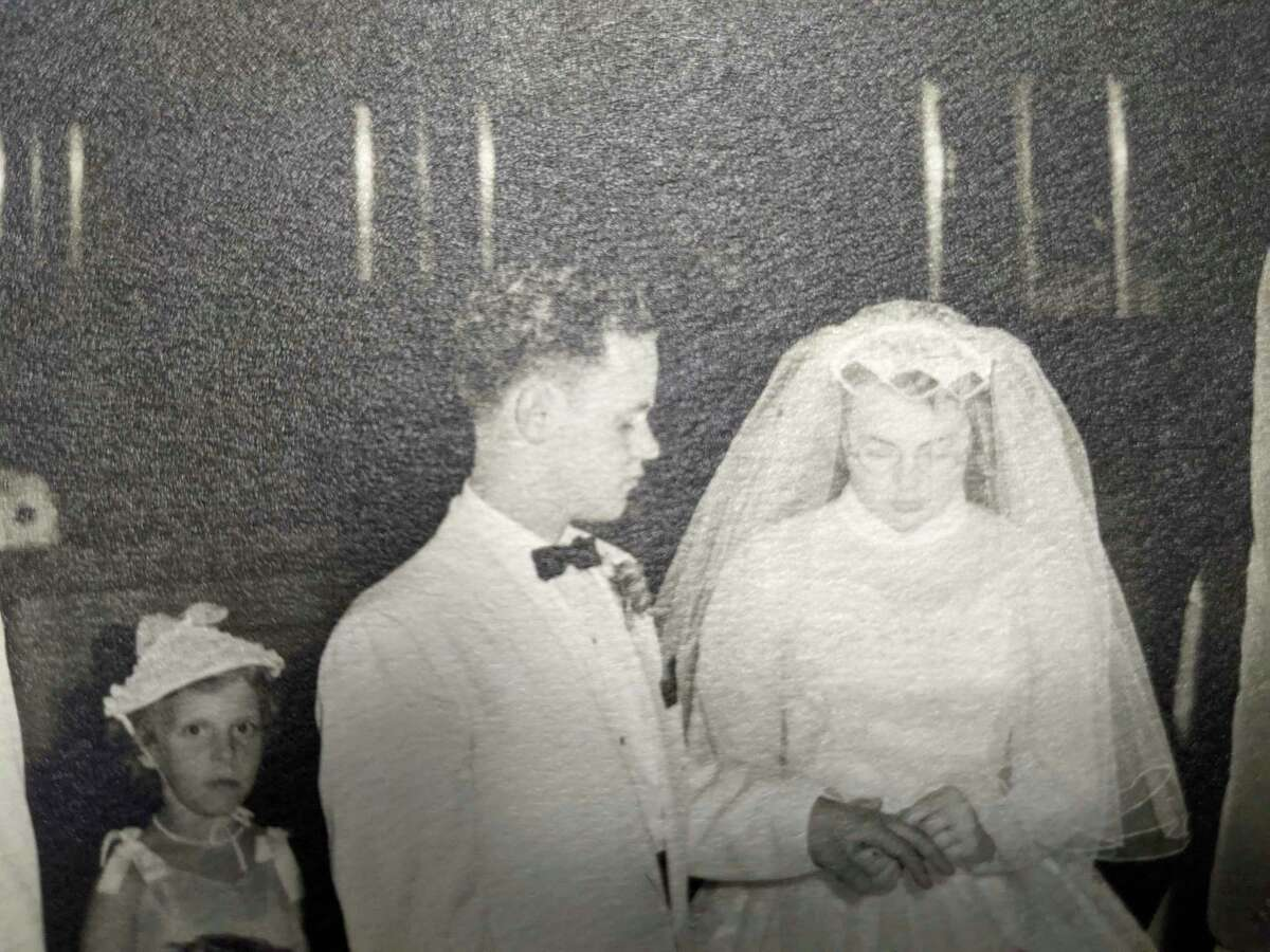 Ted Eastman married Marjorie Melchi in the East Ashman Church of God on June 14, 1958. They have been together now for63 years.