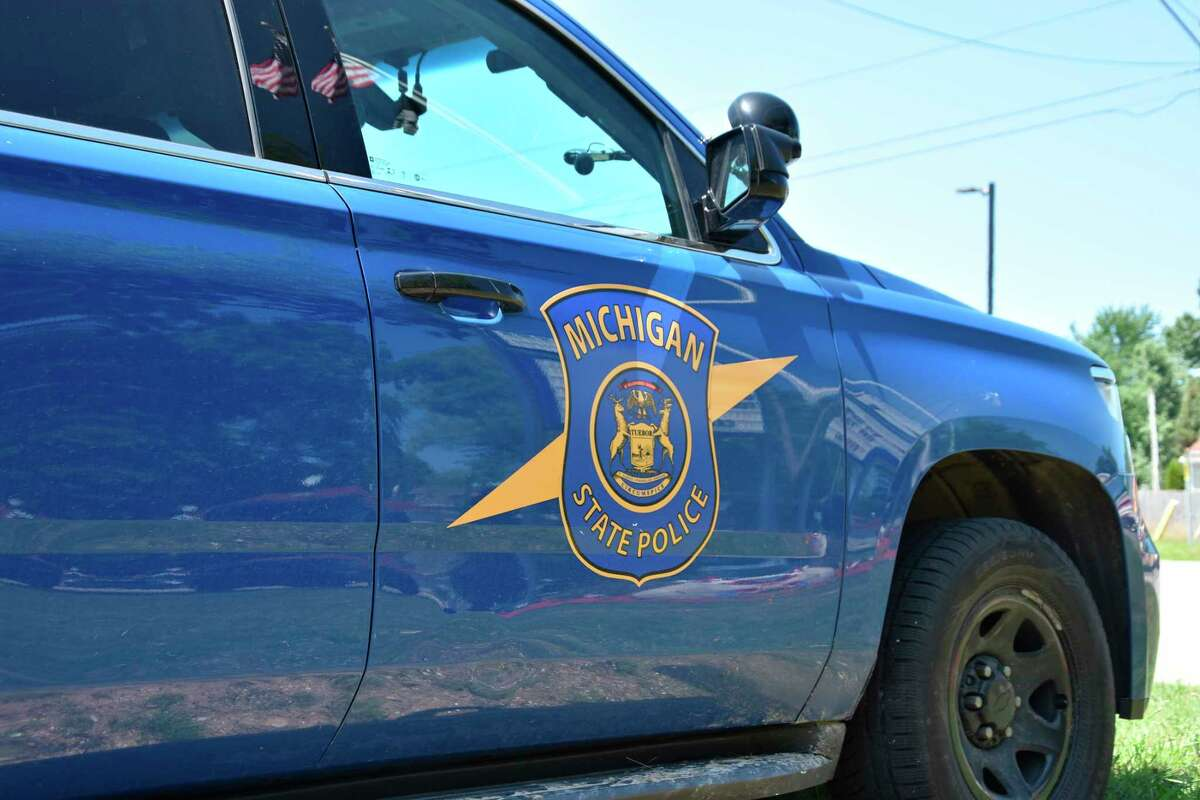 Michigan State Trooper vehicle.