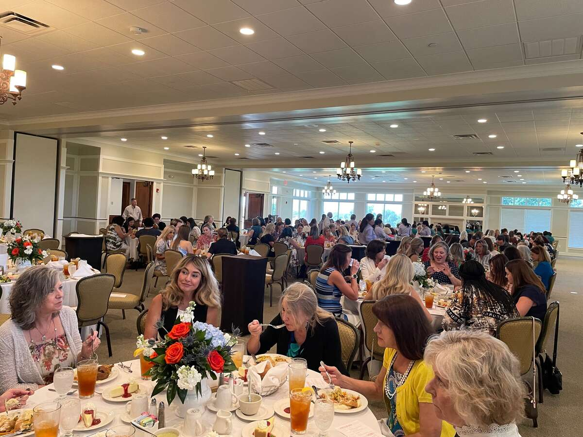 From the Women of Courage luncheon held on July 27 at Midland Country Club