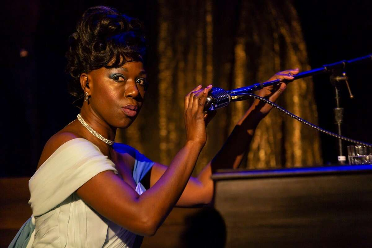"""Laiona Michelle stars in """"Little Girl Blue: The Nina Simone Musical"""" at Goodspeed Opera House in East Haddam through Aug. 29."""