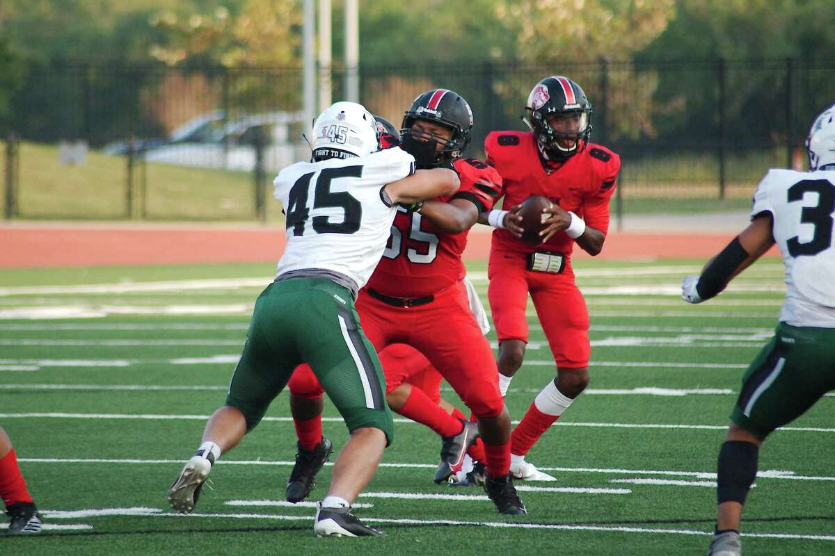 Clear Brook quarterback Cameron McCalister (8) is a talented veteran leading what could be a potent offense for the Wolverines this season.