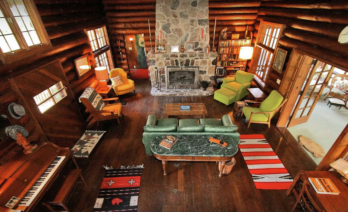 Pictured is the living room in the main lodge.