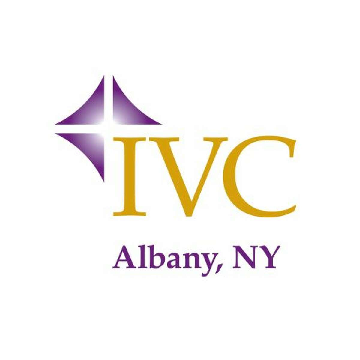 This is the logo for the local chapter of the Ignatian Volunteer Corps composed of professionals who use their skills a few days each month for charities.