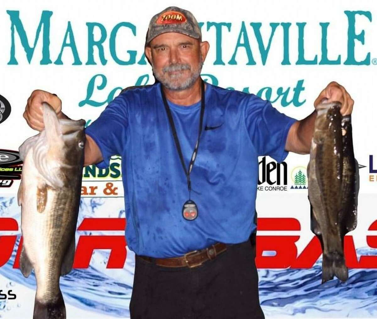 Mickey Mueller came in first place in the CONROEBASS Tuesday Tournament with a weight of 14.60 pounds.