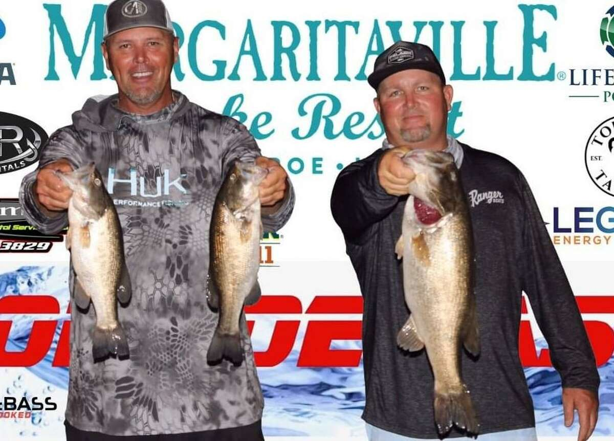 Ronnie Wagner and Tommy Baker came in third place in the CONROEBASS Tuesday Tournament with a weight of 11.46 pounds.