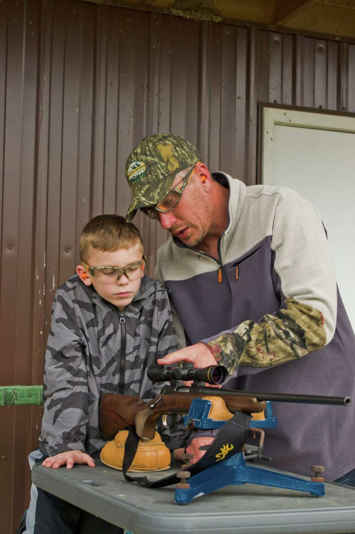 There are few events as memorable to both than a father and son as preparing for a hunt.