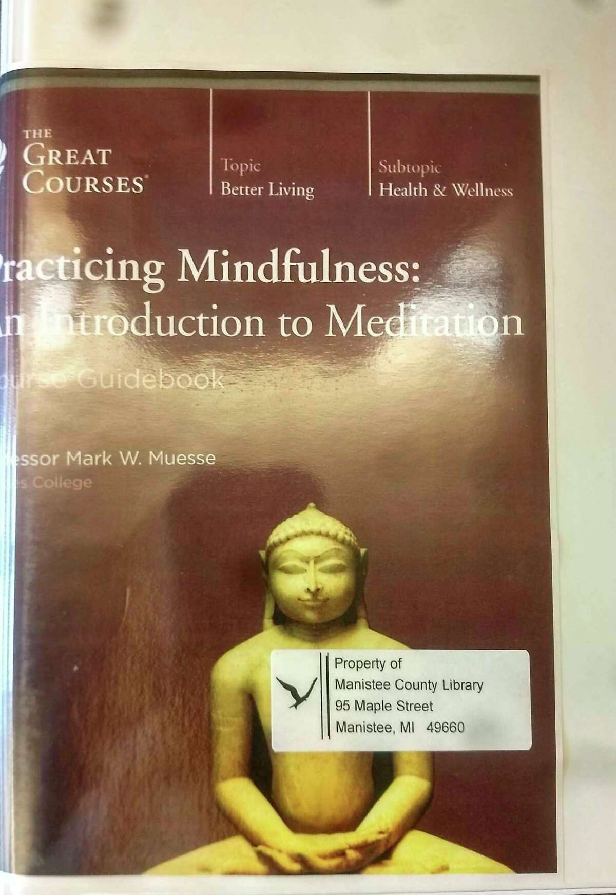 """""""Practicing Mindfulness: An Introduction to Meditation"""" and """"Masters of Mindfulness: Transforming Your Mind and Body"""" are DVD courses with guide books that incorporate scientifically based research following ancient and modern techniques to reduce stress and increase happiness in our lives. (Courtesy photo)"""