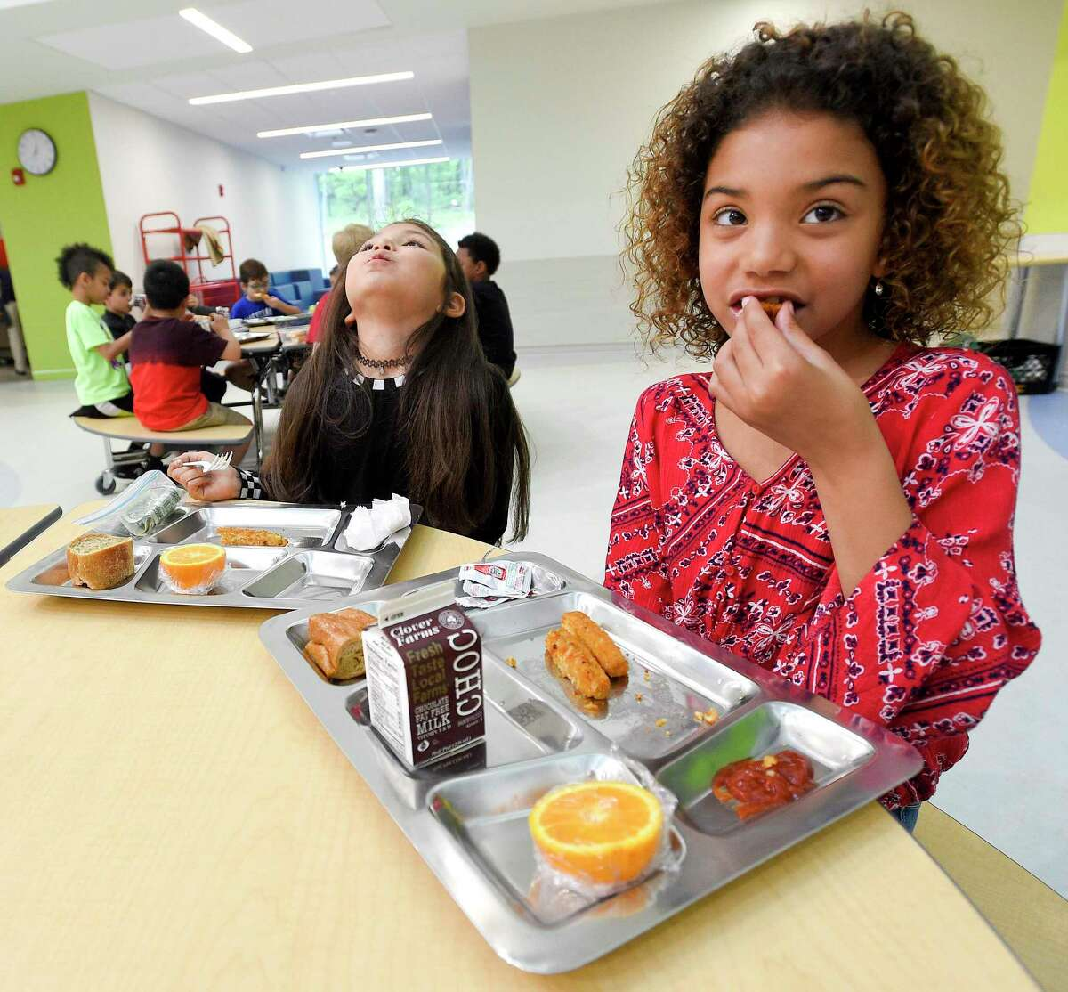 All Lamar CISD students can enjoy free meals each school day during the 2021-22 school year.