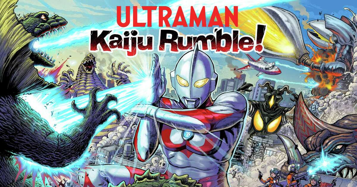 Artist and San Antonio native Matt Frank created all the art for Ultraman: Kaiju Rumble! The new pinball game is based on the Japanese superhero Ultraman from the 1960s.