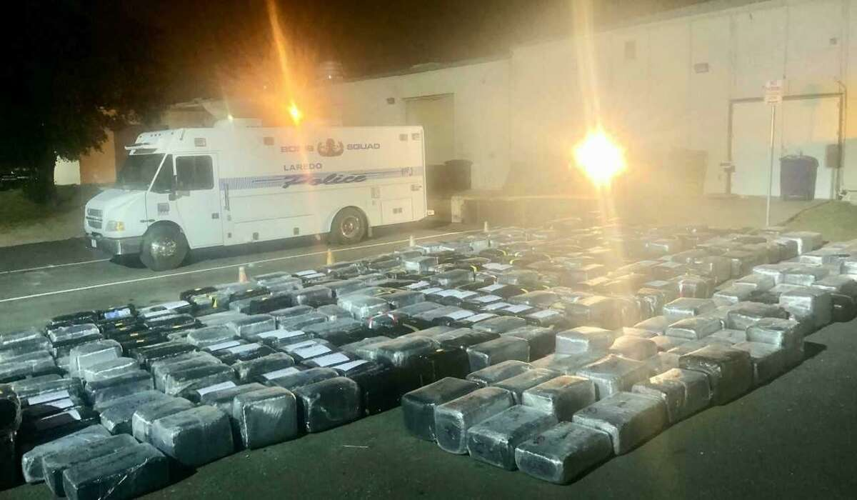 The Laredo Police Department celebrated the recent takedown of 20 individuals involved allegedly in a marijuana distribution conspiracy.