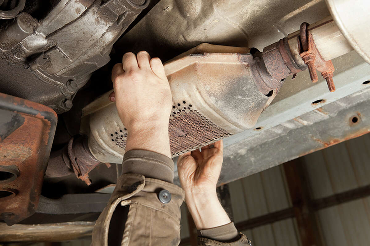 According to State Farm insurance claims data, in the 12-month period from July 2020 through last month, catalytic converter theft claims filed surpassed 18,000 - an increase of close to 293% nationwide.