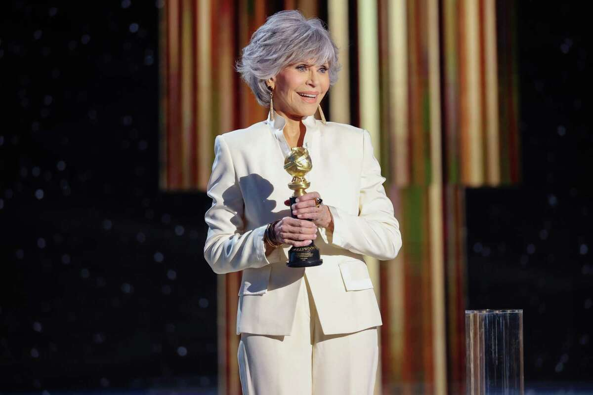 Jane Fonda, shown accepting the Cecil B. DeMille Award at the Golden Globes in February, had considered running for California governor.